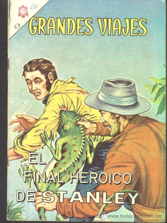 Tebeos: GRANDES VIAJES # 9 EL FINAL DE LIVINGSTONE EDITORIAL NOVARO 1963 EXCELENTE ESTADO - Foto 2 - 27298255