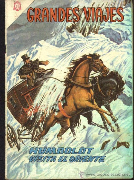 Tebeos: GRANDES VIAJES # 9 EL FINAL DE LIVINGSTONE EDITORIAL NOVARO 1963 EXCELENTE ESTADO - Foto 3 - 27298255