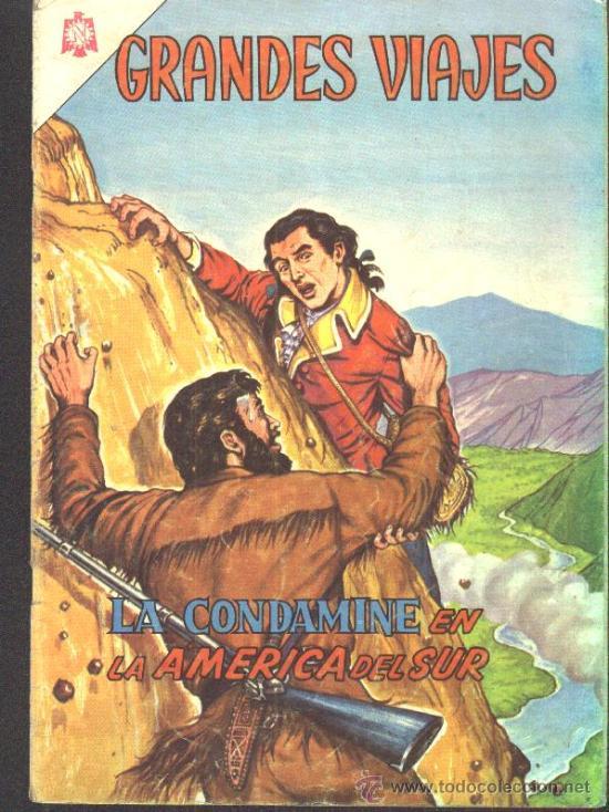 Tebeos: GRANDES VIAJES # 9 EL FINAL DE LIVINGSTONE EDITORIAL NOVARO 1963 EXCELENTE ESTADO - Foto 4 - 27298255