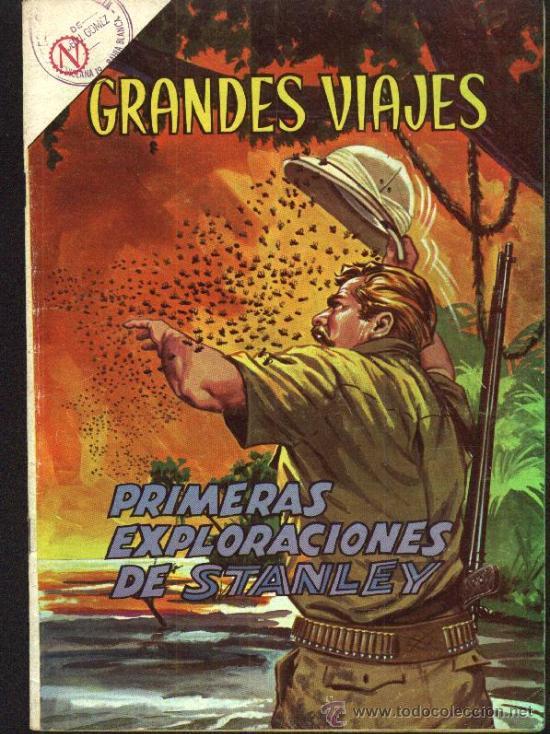 Tebeos: GRANDES VIAJES # 9 EL FINAL DE LIVINGSTONE EDITORIAL NOVARO 1963 EXCELENTE ESTADO - Foto 5 - 27298255