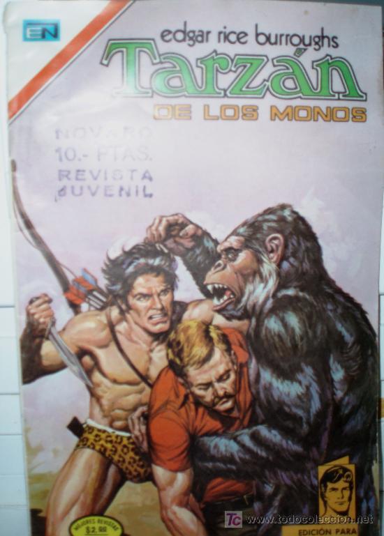 TARZAN DE LOS MONOS , Nº404, UN PLAN MALVADO (Tebeos y Comics - Novaro - Tarzán)