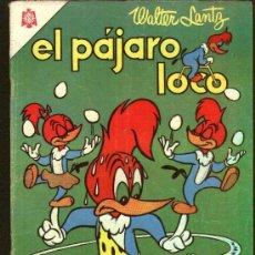 Tebeos: EL PAJARO LOCO - NOVARO - 1966. Lote 26658504
