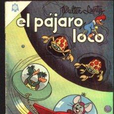 Tebeos: EL PAJARO LOCO - NOVARO - 1964. Lote 26756067