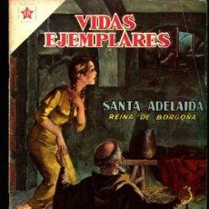 Tebeos: VIDAS EJEMPLARES Nº 59 SANTA ADELAIDA, REINA DE BORGOÑA NOVARO 1959 EXCELENTE. Lote 25821541