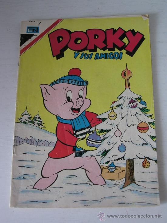 PORKY Y SUS AMIGOS Nº 195 Nº 195 EDITORIAL NOVARO, MEXICO, 1967 (Tebeos y Comics - Novaro - Porky)