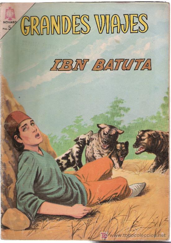 GRANDES VIAJES Nº 28. IBN BATUTA (Tebeos y Comics - Novaro - Grandes Viajes)