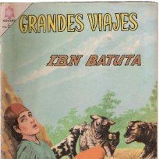 Tebeos: GRANDES VIAJES Nº 28. IBN BATUTA. Lote 18219352