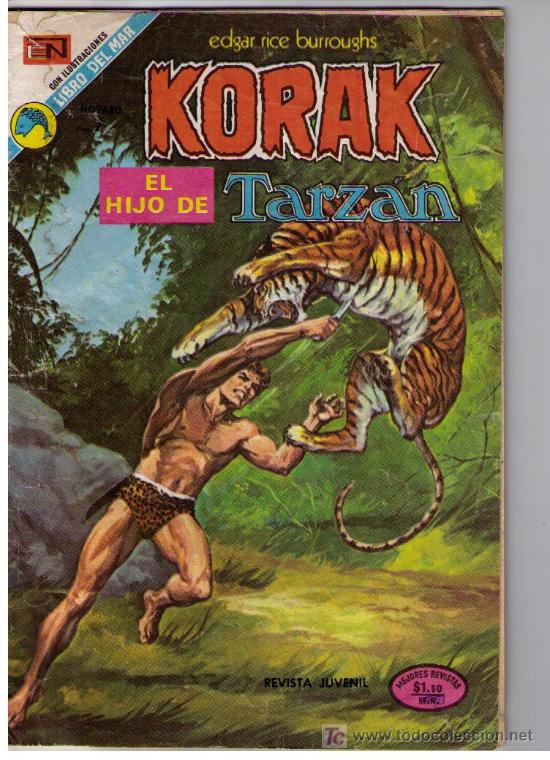 KORAK. Nº 16 (Tebeos y Comics - Novaro - Otros)