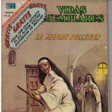 Tebeos: VIDAS EJEMPLARES. Nº 246: LA MADRE PELLETIER. Lote 26559018