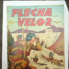 Tebeos: FLECHA VELOZ-N.28--1957--EDITORA DE PERIODICOSS.C.L.. Lote 23617836
