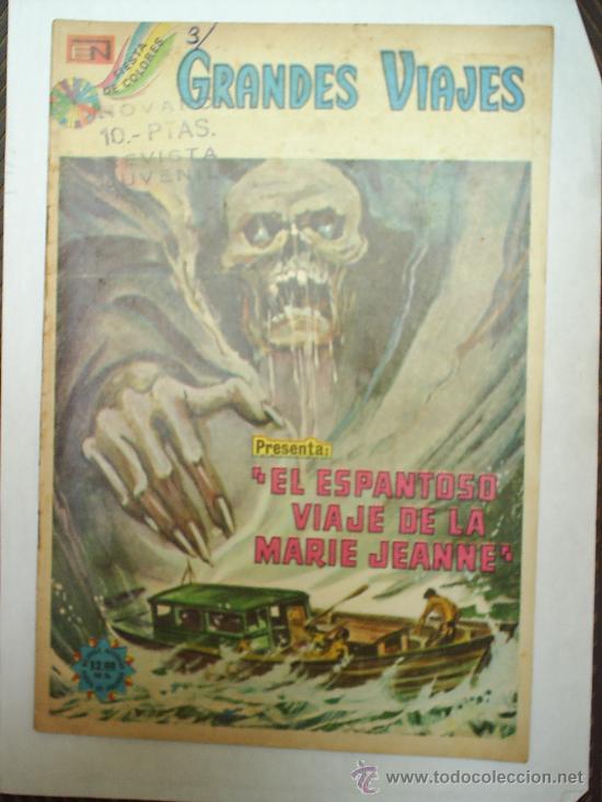 GRANDES VIAJES-N. 148-1974-EL ESPANTOSO VIAJE DE LA MARIE JEANNE-NOVARO (Tebeos y Comics - Novaro - Grandes Viajes)