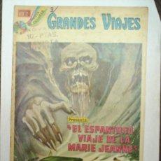 Tebeos: GRANDES VIAJES-N. 148-1974-EL ESPANTOSO VIAJE DE LA MARIE JEANNE-NOVARO. Lote 26877316