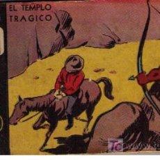 Tebeos: EL RAYO ROJO.EDIT.ABRIL (BUENOS AIRES). Nº 18 EL TEMPLO TRÁGICO. Lote 17755953