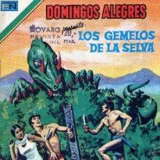 Tebeos: LOS GEMELOS DE LA SELVA (COLECCIÓN DOMINGOS ALEGRES Nº2-1314) DIBUJOS DE P. NORRIS. Lote 10348320