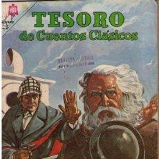 Tebeos: TESORO DE CUENTOS CLÁSICOS.Nº 91. EL SIGNO DE LOS CUATRO. Lote 17994377