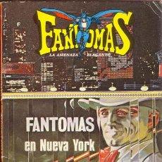 Tebeos: FANTOMAS EN NUEVA YORK. COLECCION LIBRO COMIC TOMO V. Lote 26473592