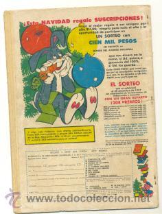 Tebeos: TOM y JERRY .. SER año VII nº78 – 1958 Mexico - Foto 2 - 21345114