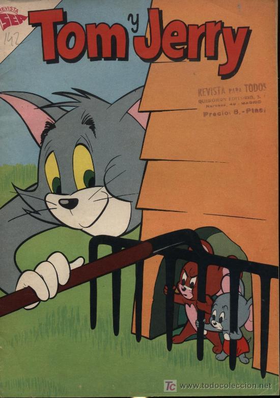 TOM Y JERRY. Nº 142 AÑO 1960 (Tebeos y Comics - Novaro - Tom y Jerry)