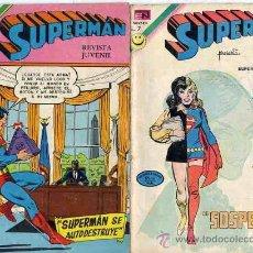 Tebeos: SUPERMAN-Nº 883, EDITORIAL NOVARO, CAJA 2 NOVARO GRANDE. Lote 23121282