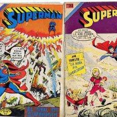 Tebeos: SUPERMAN - Nº 953 Y 968 , EDITORIAL NOVARO, AÑOS 1974 CAJA 168 COCINA. Lote 23141847