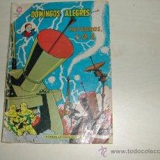 Tebeos: BLAKE Y MORTIMER NOVARO PRIMERA APARICION EN ESPAÑOL 64 PAG AÑO 1965 MUY RARO DOMINGOS ALEGRES EXTRA. Lote 25779982