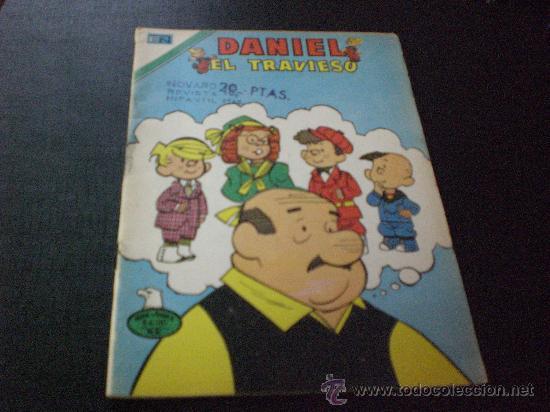 COMIC DANIEL EL TRAVIESO . ED NOVARO .-8 JUNIO 1977.- MIDE 19,50X14,00 (Tebeos y Comics - Novaro - Otros)