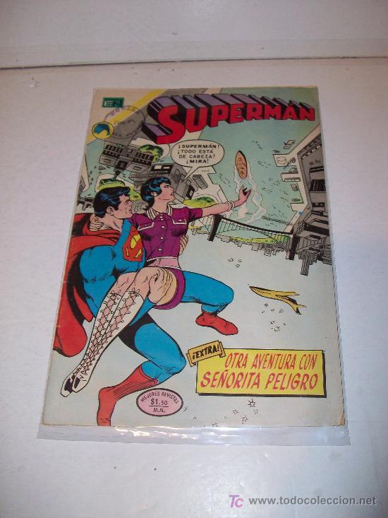 SUPERMAN (NOVARO, 1.973), Nº 895 (Tebeos y Comics - Novaro - Superman)