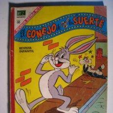 Tebeos: COMIC EXTRA Nº 1: EL CONEJO DE LA SUERTE (NOVARO 1968). Lote 12303837