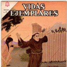 Tebeos: VIDAS EJEMPLARES Nº 199, FRAY JUNIPERO SERRA, , NOVARO 1965. Lote 12415692