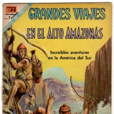Tebeos: GRANDES VIAJES Nº 65, NOVARO 1968. Lote 24624207