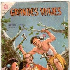 Tebeos: GRANDES VIAJES Nº 27, NOVARO 1965. Lote 12415814