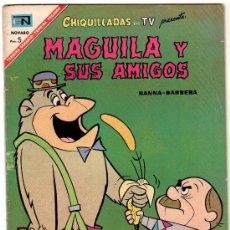 Tebeos: CHIQUILLADAS EN TV PRESENTA MAGUILA Y SUS AMIGOS, Nº 207, 1967. Lote 12428338