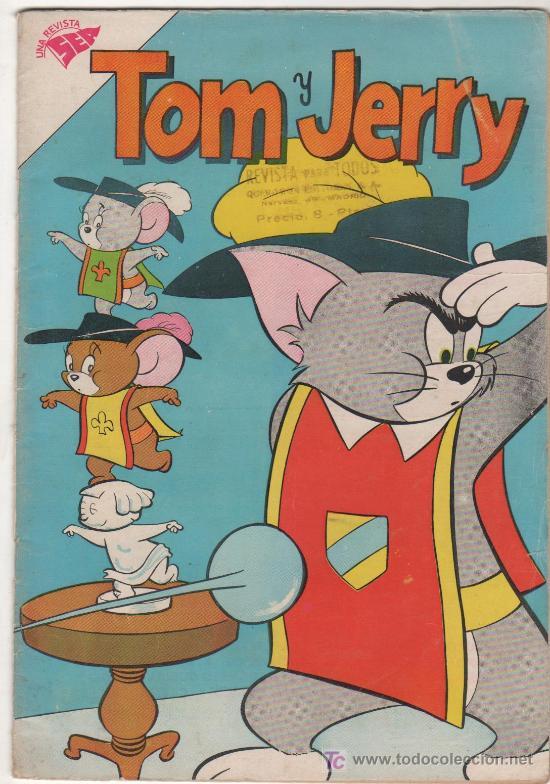TOM Y JERRY Nº 129, 1960, SEA (Tebeos y Comics - Novaro - Tom y Jerry)