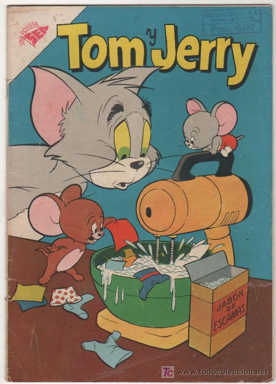 TOM Y JERRY Nº 66, AÑO 1957 SEA (Tebeos y Comics - Novaro - Tom y Jerry)