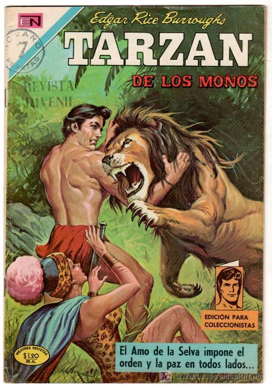 TARZAN 269 NOVARO, EDGAR RICE BURROUGHS (Tebeos y Comics - Novaro - Tarzán)