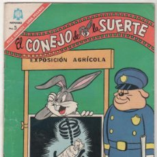 Tebeos: EL CONEJO DE LA SUERTE Nº 253, NOVARO 1966. Lote 12428659