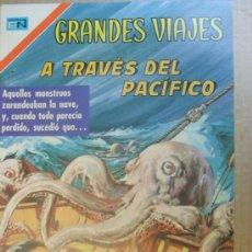 Tebeos - GRANDES VIAJES # 95 A TRAVES DEL PACIFICO NOVARO 1970 - 12812198