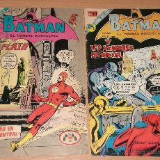 Tebeos: BATMAN, EL HOMBRE MURCIELAGO(DOS TEBEOS DE EDITORIAL NOVARO EDITADOS EN 1972 Y 1973). Lote 26287537