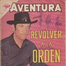 Tebeos: AVENTURA -REVOLVER A LA ORDEN- Nº 250 NOVARO 1962. Lote 26730777