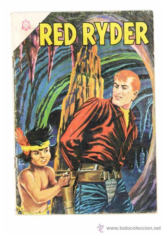 RED RYDER # 137 NOVARO 1966 EL TESTIGO MUY BUEN ESTADO (Tebeos y Comics - Novaro - Red Ryder)