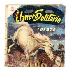 Tebeos: EL LLANERO SOLITARIO # 145 - PRESENTA PLATA - AÑO 1965 - NOVARO - CON DETALLES EN LOMO. Lote 26407618