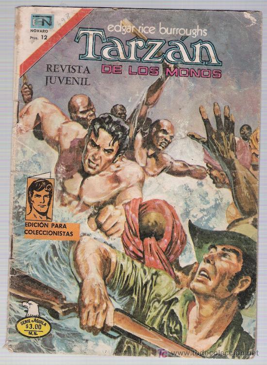 TARZÁN. Nº 2.498 (Tebeos y Comics - Novaro - Tarzán)