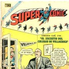 Tebeos: 1969 SUPERCOMIC # 26 SUPERMAN NOVARO EL SECRETO DEL COLEGIO DE VILLACHICA BUEN ESTADO. Lote 25463513