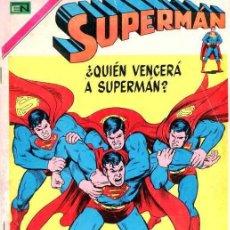 Tebeos: SUPERMAN # 970 QUIEN VENCERA A SUPERMAN ? NOVARO EXCELENTE ESTADO. Lote 29886071
