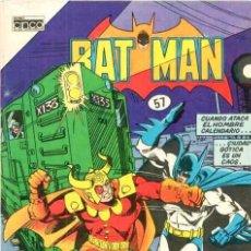 BDs: BATMAN # 57 - EDITORIAL CINCO COLOMBIA - AÑO 1985 - EL ATAQUE DEL HOMBRE CALENDARIO. Lote 24745749