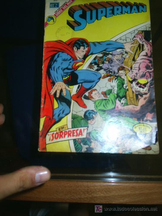 M69 NOVARO SUPERMAN 911 (Tebeos y Comics - Novaro - Superman)
