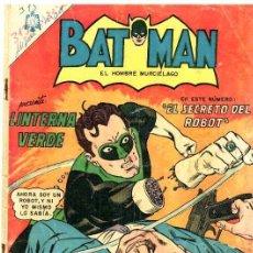 Tebeos: BATMAN # 313 LINTERNA VERDE NOVARO 1966 BUEN ESTADO CON DETALLES GREEN LANTERN # 36. Lote 23481392