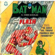 Tebeos: BATMAN # 288 FLASH & EL MAGO DEL TIEMPO NOVARO 1965 BUEN ESTADO. Lote 25441995