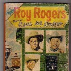 Tebeos: ROY ROGERS NÚMERO EXTRAORDINARIO NOVARO - ASES DEL RODEO. Lote 18218109