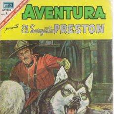 Tebeos: AVENTURAS SARGENTO PRESTON NOVARO AÑO 1967. Lote 14549576